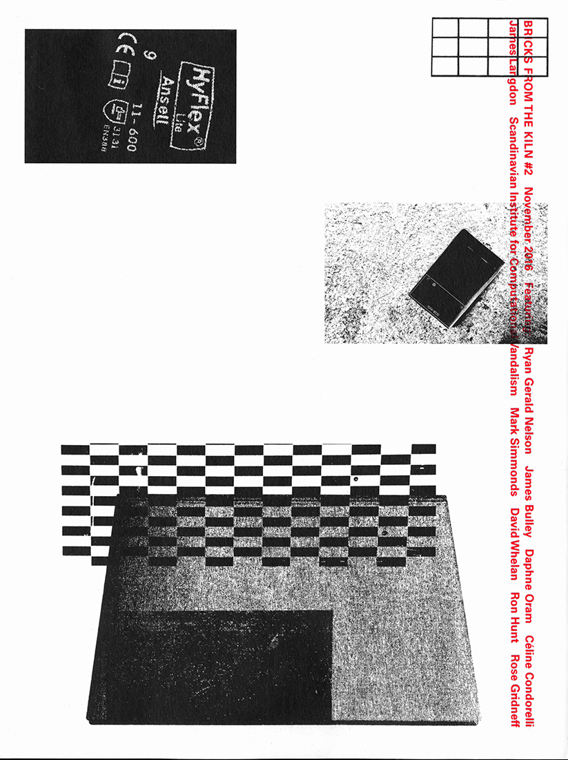Front and back cover slideshow of Bricks from the Kiln issue 2